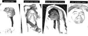 Obreros asesinados