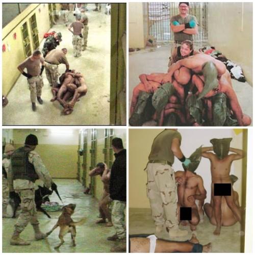Las fotografías muestran a iraquíes desnudos siendo humillados, sodomizados y torturados por soldados norteamericanos. Lamentablemente, tal como reseña el citado medio, las imágenes no expresan al máximo lo sucedido en aquella cárcel.