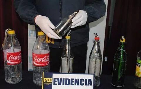 Bombas molotov de 2 lts y en botellas plasticas ¡¡¡plop!!!