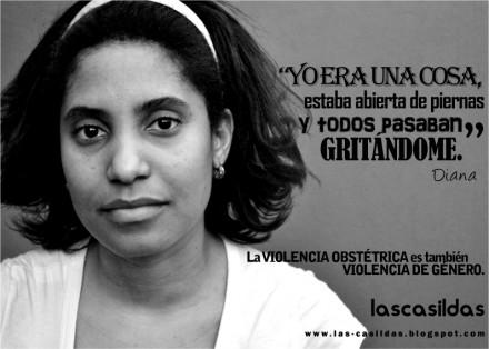 En Argentina, la Fundación Las Casildas inició una campaña contra la violencia obstétrica.