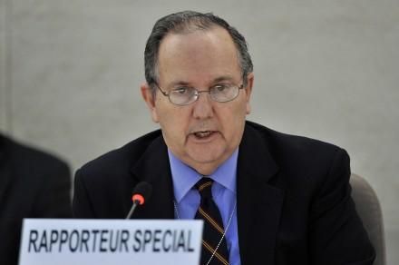 Relator especial de Naciones Unidas contra la Tortura, Juan Méndez.