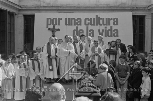 Funeral de José Manuel Parada Fundación Documentación y Archivo de la Vicaría de la Solidaridad.