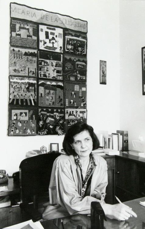La última secretaria ejecutiva de la Vicaría de la Solidaridad fue María Luisa Sepúlveda Fundación Documentación y Archivo de la Vicaría de la Solidaridad.