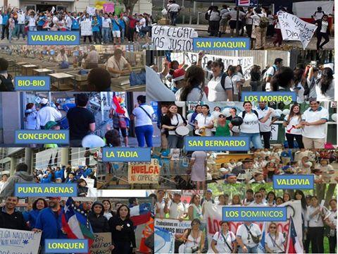 Fotos: https://www.facebook.com/media/set/?set=a.771325666247894.1073741840.100001114022858&type=1 Simplemente ejemplar manifestación de UNIDAD DE CLASE....