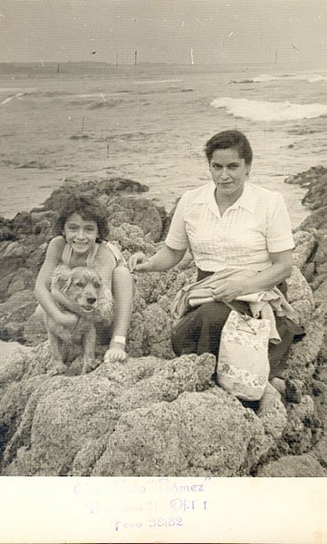 Reinalda era hija de una madre soltera que trabajó como empleada doméstica en Santiago. Archivo familiar.
