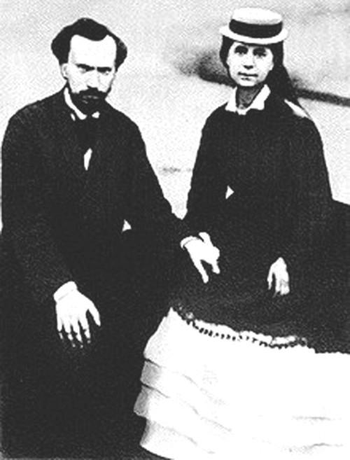 Charles y Jenny Marx Longuet en Ramsgate en 1880, cuando el nuevo gobierno francés decidió conceder una amnistía a los antiguos communards, y Charles se preparaba para regresar a Francia y reanudar su vida allí.