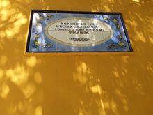 Casa que habitó Lucila Godoy en el popular Barrio Huemul